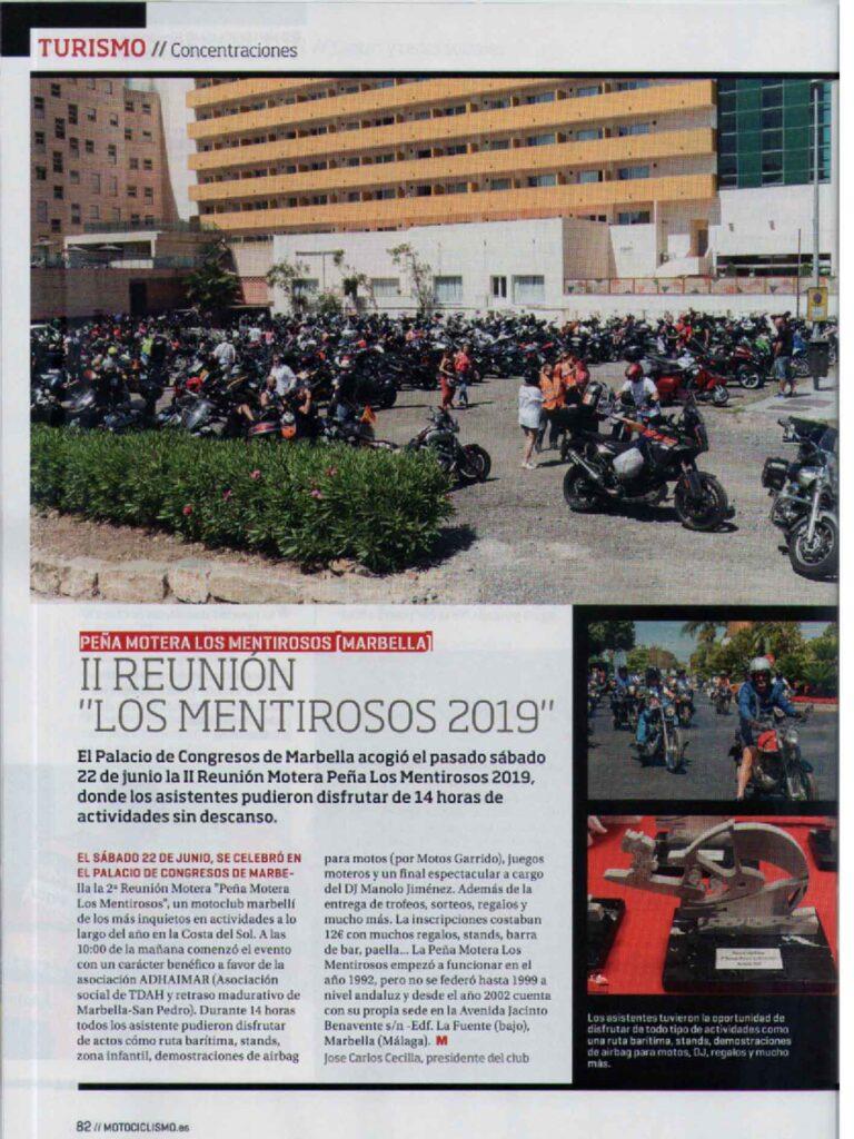 Revista Motociclismo Reunion 2019